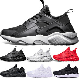 separation shoes 6b826 56c3a A buon mercato Air huarache 1 4 uomini donne scarpe da corsa ultra triple nero  bianco rosso Oreo huaraches designer scarpe da ginnastica sportive sneaker  ...