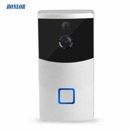 Intelligentes drahtloses Türklingel WIFI-Video-Wechselsprechanlage-wasserdichtes Kamera-Nachtversion PIR-Infrarotdetektor-Mobiltelefongespräch für freies Verschiffen von Fabrikanten