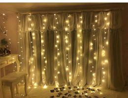 3Mx3M 300leds chaîne de fée glaçon led rideau de lumière 300bulbs de noël mariage fête de jardin décor 12 brins Twinkle fenêtre ? partir de fabricateur