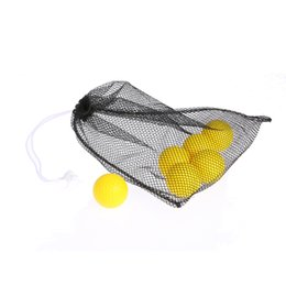 Wholesale Tennis Net Wholesale - 40 Golf Balls Storage Bag Nylon Mesh Golf Ball Net Bag Training Ball Holder Table Tennis Organizer Mesh Net Pouch