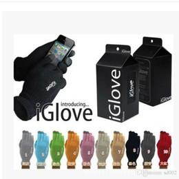 2019 handschuhtelefon Mode Kreative Ipad Smartphone Kapazitive Touchscreen Handschuhe Erwachsene Handschuhe Teleskop Acrylfasern Strickhandschuh Heißer Verkauf 3zx aa rabatt handschuhtelefon