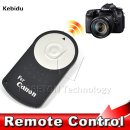 Wholesale Eos 5d Mark - Kebidu Hot RC-6 RC6 IR Infrared Wireless Remote Control Camera Shutter Release For Canon EOS DSLR 5D Mark II 500 550 600 650