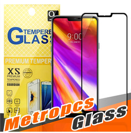 Wholesale Blade Screen Protector - For LG G7 STYLO 4 K10 2018 Aristo 2 X Power 2 ZTE Zmax pro Blade HTC U11 2.5D Full Cover Tempered Glass Screen Protector For Metropcs phones