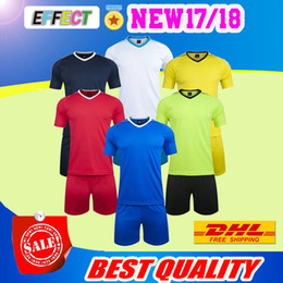 Wholesale Sports Full T Shirts - New style leisure soccer jerseys men's customized football kits adult's outdoor team sports training uniforms soccer sets t shirts