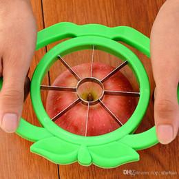Mele tagliate online-2017 Hot Corer Slicer Cutter facile Tagliata Coltello da frutta Cutter Per Apple Pear DHL-G173 gratuito