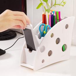 Scatola portaoggetti per scrivania Scatola portaoggetti per TV in plastica eco-compatibile cheap remote control storage boxes da scatole di immagazzinaggio a distanza fornitori
