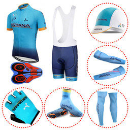 63591c05c New ASTANA Team Pro Cycling Jersey Shorts Set Padded Silicone racing Bike  Clothes Men Summer Riding Cycle Clothing Mtb Bicycle Wear 101513Y