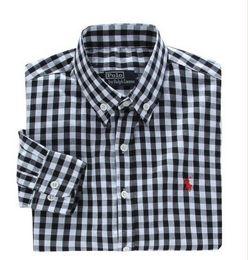 Nueva moda pequeño caballo Oxford hombres camisas de manga larga para hombre camisas de vestir de alta calidad para hombre de negocios camisas polo Chemise Homme 7045 desde fabricantes
