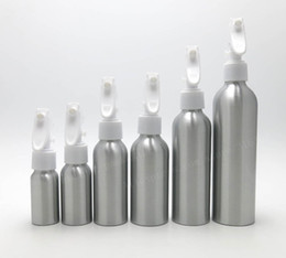 Wholesale bottle pump for cosmetic packaging - HUICHENG 24 x 30ml 50ml 100ml 120ml 150m 250ml aluminium pump Bottle Refillable Empty lotion Bottles for Cosmetic Packaging