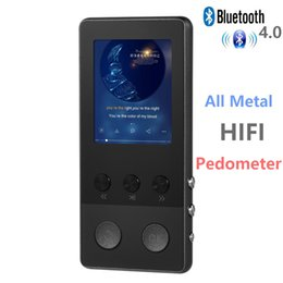 Bluetooth HIFI MP3 Player Tela de 1.8 polegadas TFT 8 GB music player com Gravador de Voz, Pedômetro, Vídeo, FM Rádio Suporte TF cartão cheap 1.8 tft de Fornecedores de 1.8 tft
