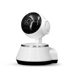 Wholesale used network - HD Camera Wireless network monitoring 360-degree panoramic remote phone two-way voice intercom infrared night vision surveillance camera