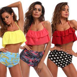 29365bf51 8 Fotos Bikinis de cintura alta de las mujeres 3 estilos del traje de baño  superior de la