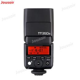 Mini transmisor de cámara online-Godox TT350 GN36 2.4G TTL HSS Mini Flash Speedlite + XPro Kit de activación del transmisor de flash para / N / S / F / O Cámara T06