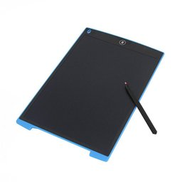 Wholesale Lcd Graphic - 12 Inch LCD Writing Tablet Digital Drawing Tablet Handwriting Pads Portable Electronic Tablet Board with button cell
