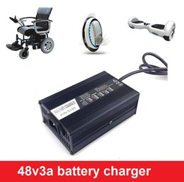 Wholesale Lipo Battery Balance Charger - 48V lipo, lead acid, lifepo4 battery charger 50.4V3A, 54.6V3A, 58.8V3A, 58.4V3A charger for electric scooters, ebike and balance car