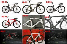 Wholesale 54cm Carbon Road Bike - 2018 Carbon Road Frame Cipollini RB1K THE ONE Anthracite Shiny RB1000 T1100 carbon fiber road bike bicycle frame set
