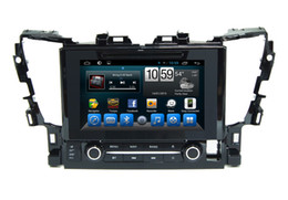 Wholesale Double Din Android Dvd Player - double din 12V car DVD Android 6.0 audio and video player HD capacitive touch screen 1080P video GPS 1GB RAM WIFI 3G mirror link