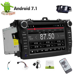 toyota corolla gps android Coupons - Android 7.1 Octa Core Double din GPS Navigation VCD USB SD 2 din Car DVD Player for Toyata Corolla (2007-2013) Bluetooth Monitor