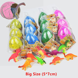 Wholesale Magic Grow - Novelty Gag Toys Children Toys Extra Large Size Cute Magic Hatching Growing Dinosaur Eggs For Kids Educational Toys Gifts