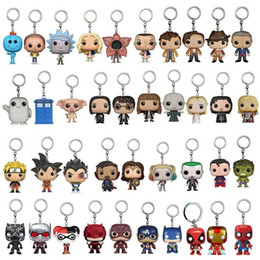 dragonball z dbz action figure Coupons - Harry Potter Marvel Game of Thrones Guardians of the Galaxy Bat Man Hulk Action Figures Keychain Funko Pop dragonball z Groot dbz Figurine