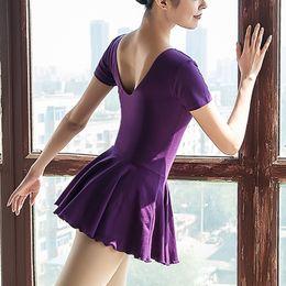 traje de adulto vestido de ballet mujer ropa de práctica de baile leotardo para danza leotardos de ballet para mujeres leotardos de gimnasia desde fabricantes