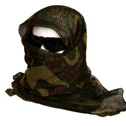 foulards tactiques militaires Promotion Camouflage Écharpe Sport de Plein  Air Voile Militaire Tactique Foulards Armée Camo 0972e708ac7