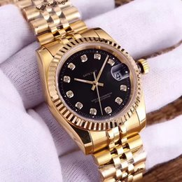 Wholesale designer men watches automatic - Luxury watch for men and women lover diamond automatic watches R041604 mechanical designer ladies master montre date wrist watch