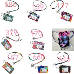 Wholesale Nwt Shorts - NWT VB Cotton Zip ID Case with Lanyard ID Card Holder Credit Card Bus Card Case