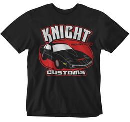 Costumes de super heróis on-line-Cavaleiro Rider T-shirt Kit de Alfândega Car Show de TV Super hero crime lutador 80 s trans