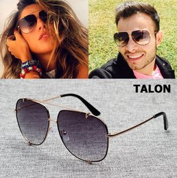 23758c57320 JackJad Hip Hop Fashion TALON Style Aviation Gradient Sunglasses Cool Metal  Spikes Brand Design Sun Glasses Oculos De Sol 7056