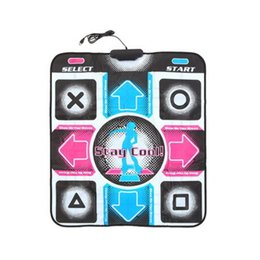 Wholesale dance mat pad - HD Revolution Non-Slip Dancing Step Dance Mat Pad Pads Dancer Blanket Fitness Equipment Foot Print Mat to PC with USB New