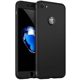 Capa de telefone 3in1 on-line-Para iphone xs max xr x 8 7 6 6 s plus 5 5S se 360 armadura protetora 3in1 tampa do pc rígido para samsung s9 s8 mais s7 borda nota 8 9 casos de telefone