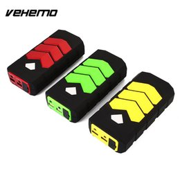 Wholesale power bank 1a - VEHEMO with LED 12V 1A Car Battery Charger Power Bank Car Jump Starter Kit Supplies DIY Automobile Power Kit