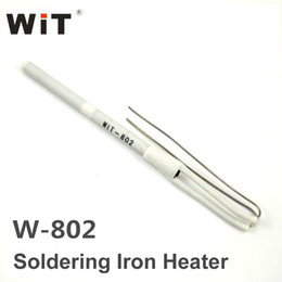 Wholesale Iron Replacement - New Original WiT W802 Soldering Iron Replacement Part Ceramic Heater Core Ultra-durable Heating Element Internal Heat Type