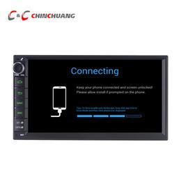 """Android 6.0 Автомобильный DVD-плеер для 7 """"1024 * 600 Универсальный GPS Navi Радио BT WiFi Поддержка OBD DAB + DVR от"""