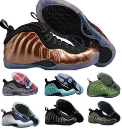 Wholesale Pearl Massage - News Air Basketball Shoes Sneakers Mens Purple Man 1 One Pro Sports Shoes Pearl Penny Hardaway Shoes Chian Zapatillas Homme Size:40-47