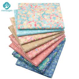 8 pz / lotto 40 cm * 50 cm Colorato Tessuto di Cotone Stampato per Patchwork Quilting Panno Bambola Scrapbooking Handmade Materiale Ricamo da