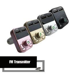 Argentina B3 Manos Libres Inalámbrico Bluetooth Coche Transmisor de FM Modulador AUX Kit de Coche Reproductor de MP3 Cargador USB SD Accesorios para Coche Suministro