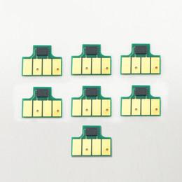 Neue hp drucker online-7 Farben / Set Für HP 831 Patrone Chip Für HP Latex 310 330 360 370 Drucker Neue Upgrade Cartridge Chip