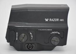 visão docter Desconto Óptica Vortec Navalha AMG UH1 estilo holográfico Red Dot Sight para 20mm Mount Hunting Rifle