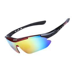 671cd52eb00 Polarized Cycling Glasses Road Mountain Bike Goggles 5 Lens UV400 TR90 Bicycle  Eyewear Sunglasses for Men Women Si065