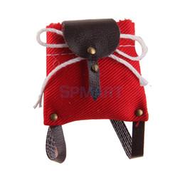 Wholesale wholesale vinyl bag - 1 12 Scale Red Little School Bag for Dolls House Miniature Decoration