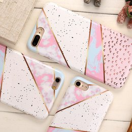 Wholesale mobile phone technologies - 2018 Newest Technology Coulourful Marble Pattern Phone Case Soft TPU Material Better Shatter-resistant For All Kinds Of Mobile Phone Case