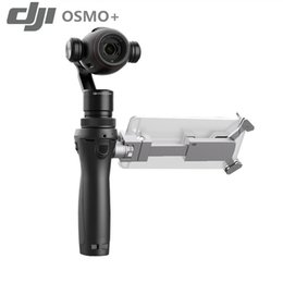 Wholesale Hands Free Camera - DJI Osmo+ Handheld Gombal 4K Hand Camera Gimbal 3Axis photography Gimbal the newest osmo+ camera Professional Stabilizer Free shipping