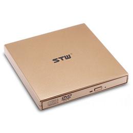 Plugue pop-up on-line-STW STW-8033 Ultra-slim USB 2.0 Pop-up Gravador de DVD externo janela de suporte, sistema iOS Fácil de instalar, plug and play