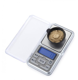 Wholesale Digital Scales Wholesale - Mini Electronic Pocket Scale 100g 200g 300g 500g  0.01g Jewelry Diamond Scale Balance Scale LCD Display with Retail