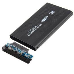 2019 fujitsu hard disks Super Speed 2.5 Polegada Caso HDD SATA para USB 3.0 Disco Rígido SATA Armazenamento Externo Caixa De Gabinete HDD Com Cabo USB Chave De Fenda