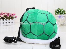 "Wholesale Wholesale Turtle Shells - Super Mario Bros 35cm 13.5"" Super Mario Bros Cournot Turtle Shell backpack Plush Toy Figure"