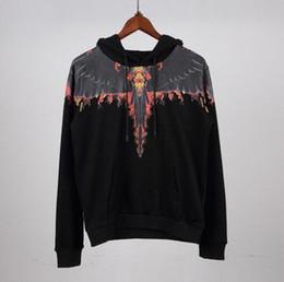 hoodies de plumes Promotion Marcelo Burlon Sweat à capuche Homme Femme Italie Comté de Mila Ailes de plumes MB Sweat-shirt de rodéo Marcelo Burlon Sweat-shirts