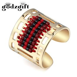 Wholesale Royal Nails - Godzgift Women Tribe Finger Rings Men Trendy Bohemia Style Metal Nail Ring Hollow Out Royal Vintage Jewelry New JR4003